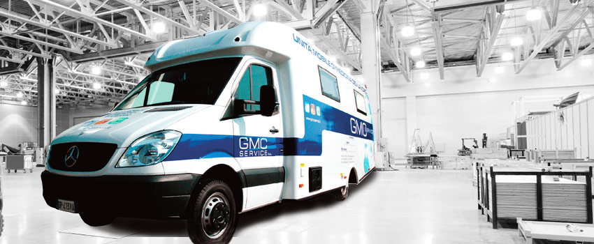 Unità mobile medicina lavoro